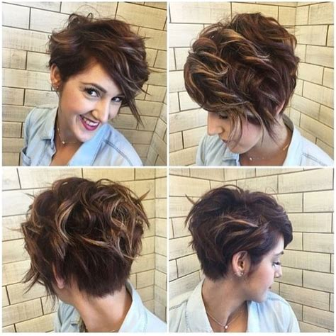 pixie cuts for mousy browns with highlights 10 stylish messy short hair cuts 2017 hairstyles for