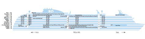 aidaprima schiffsplan regal princess kreuzfahrten deckplan und schiffsbewertungen