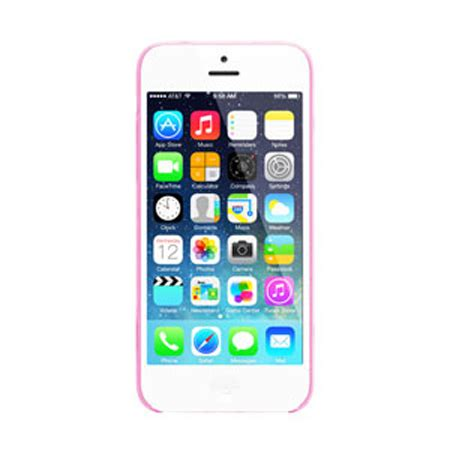 Pinlo Iphone 6 Bladeedge Clear pinlo slice 3 for iphone 5c transparent pink