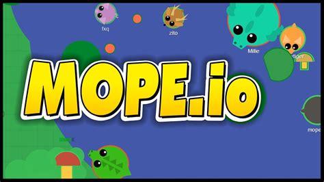 mope io mope io gameplay killing spree becoming new animals