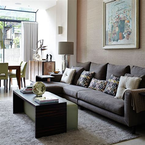 Open Plan Dining And Living Room by Classic Open Plan Living Room Living Room Decorating