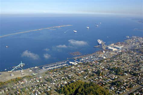 port angeles washington port angeles harbor in port angeles wa united states