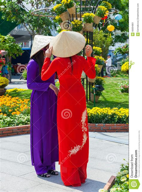 traditional chi two in traditional ao dai dress