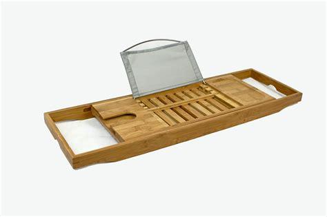 bathtub rack tray bathtub rack shelf shower tub book reading tray holder