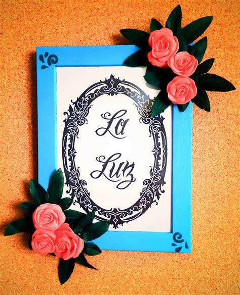 come decorare una come decorare un portafoto con fiori e colori acrilici