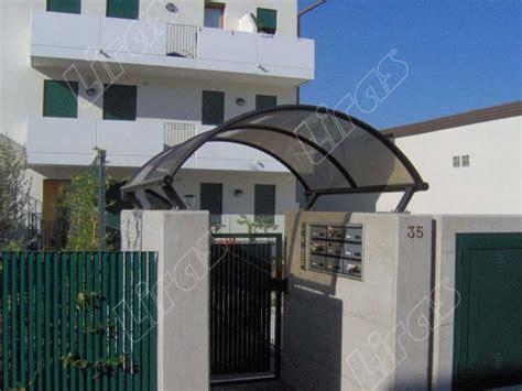 coperture per tettoie trasparenti tettoie trasparenti copricancello in plexiglass e
