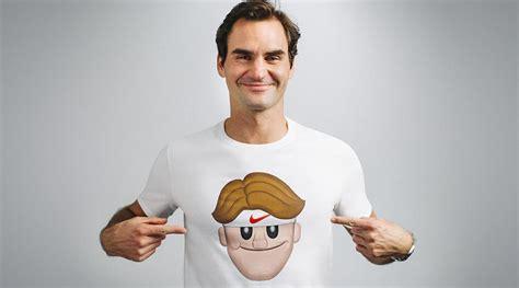 Tshirt Roger Federer details on roger federer emoji shirts by nike artist
