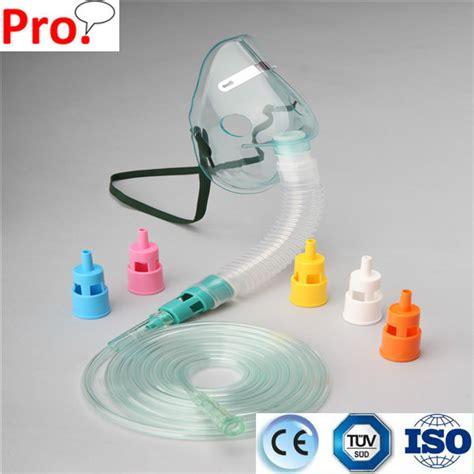 Masker Venturi adjustable oxygen venturi mask blue 24 yellow 28 white 31 pink 40 orange 50 buy