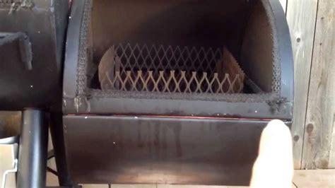 oklahoma joes longhorn smoker modifications sealing