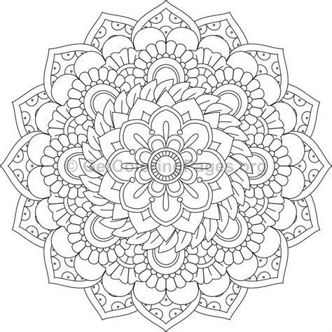 flower mandalas coloring page flower mandala coloring pages 52 getcoloringpages org