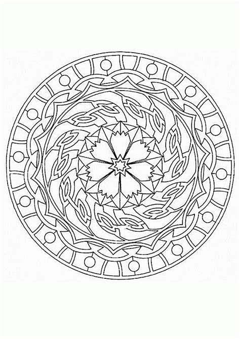 mystical mandala coloring pages free mandala coloring pages coloring home