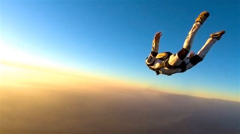 parachute dive skydiving sport hd wallpapers