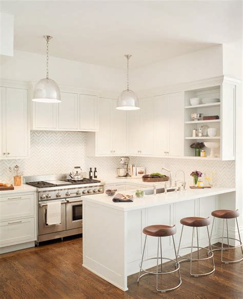 All White Kitchen Designs Kitchens With Open Shelves Archives Simplified Bee