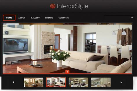 for interior design target interior design corporate web design template