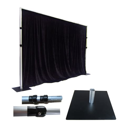 pipe draping pipe and drape used for photo booths pipe and drape