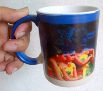 Mug Berubah Warna pabrik mug coated warna cangkir muk coating mug polos