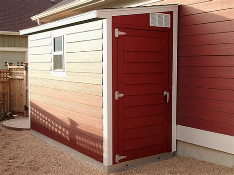 Narrow Shed For Side Of House Lean To Storage Sheds