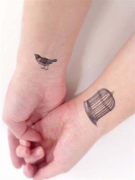 small black bird tattoos bird cage temporary bird tiny tattoos