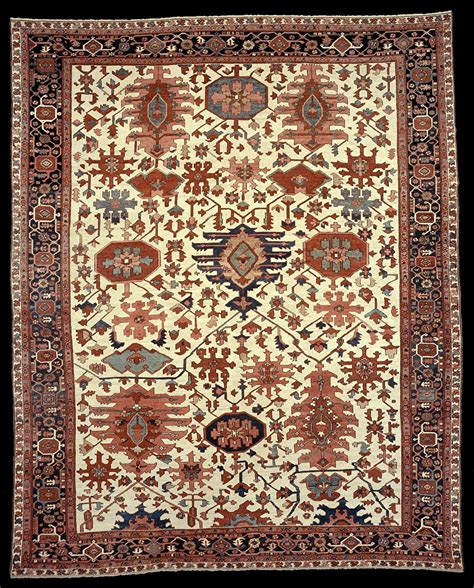 azerbaijan rugs antique serapi carpet