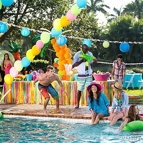 summer parties pool party idea summer pool party ideas summer party