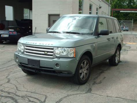 how to sell used cars 2006 land rover discovery seat position control purchase used 2006 land rover range rover hse sport utility 4 door 4 4l no reserve runs great