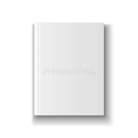 Book Cover Template Illustrator by Blank Book Cover Template On White Background With Stock