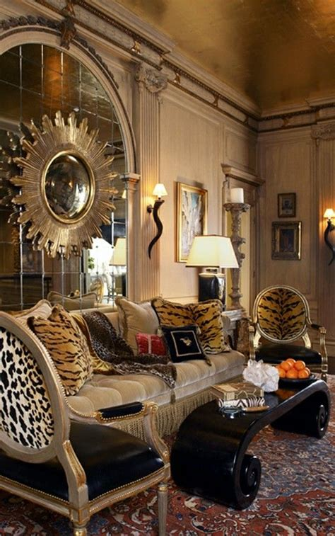 Prints For Living Room - opulent a the top but has some great ideas
