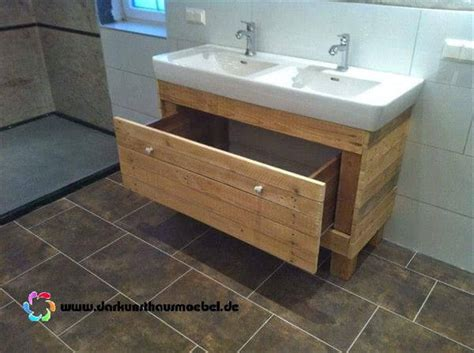 Diy Bathroom Furniture Diy Pallet Bathroom Vanity Pallet Furniture Diy
