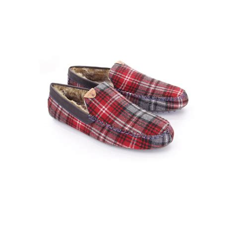 Tartan Slippers ted baker mens ted baker mens carota slippers in tartan