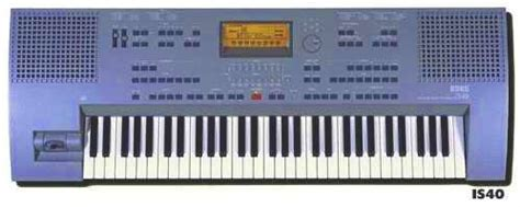 Keyboard Korg Is50b korg is40 wikizic