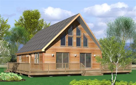 Chalet Home by Lewistown Modular Home Floor Plan