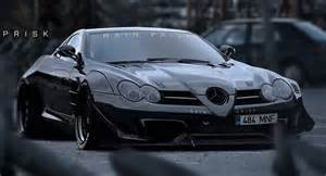 Mercedes Amg Mclaren Mercedes Slr Mclaren Goes All Darth Vader On Us And We
