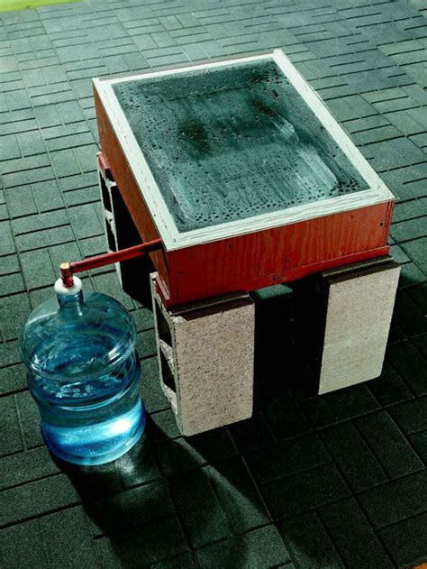 Distilled Water Shelf by Make Distilled Water With This Diy Device Http Www