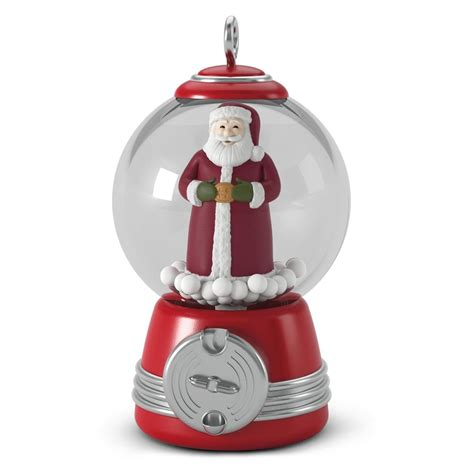 2016 gumball santa hallmark keepsake miniature ornament