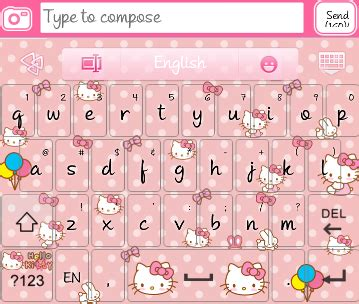themes go keyboard hello kitty hello kitty go keyboard skins android themes