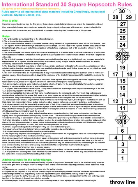 game rules layout hopscotch layout and rules pokemon go search for tips