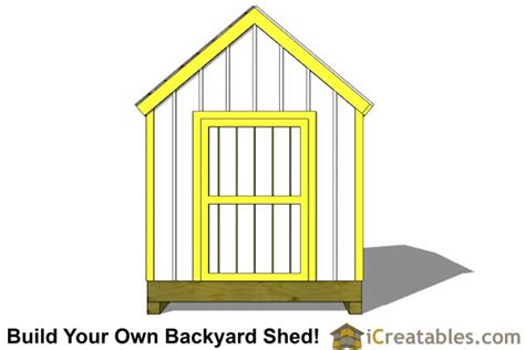 Cape Cod Shed Plans by 8x10 Cape Cod Shed Plans Storage Shed Plans