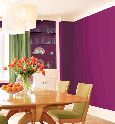 26 Best Images About Plum Berry Green On Pinterest Bold Dining Room Colors