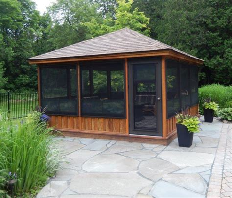 outdoor gazebo kits screened gazebo kits decorative pinteres