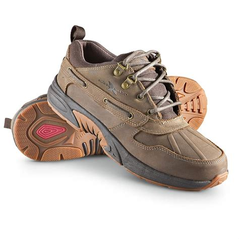 Rugged Shark Boots by S Rugged Shark 174 Waterproof Portage Lows Brown
