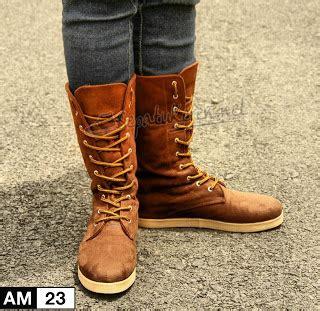 Sepatu Boot Bangunan model sepatu boots wanita korea id