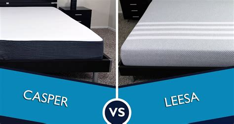 Foam Vs Vs Mattress by Casper Vs Leesa Mattress Review Sleepopolis