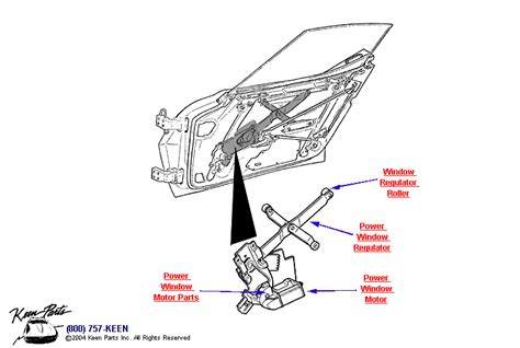 power window parts diagram 1977 corvette power window regulator parts parts