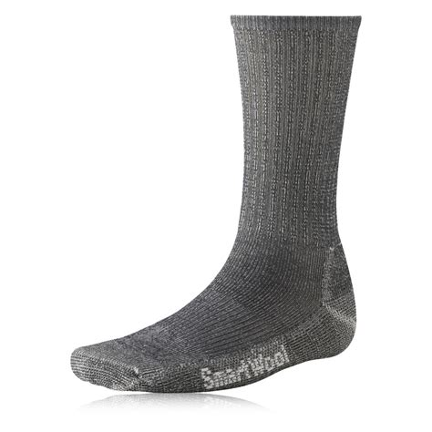 walking socks smartwool mens light crew grey mid height merino wool hiking walking socks ebay
