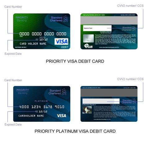 bank account in debit account number on debit card
