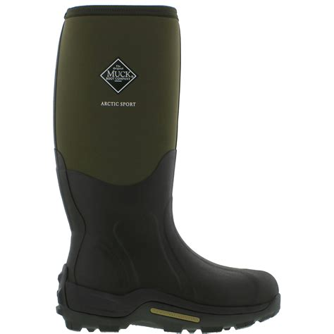 arctic muck boots muck boots arctic sport mens black warm neoprene