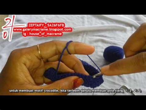 tutorial merajut dompet tutorial merajut membuat dompet behel besi dengan motif