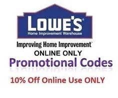 lowe s home improvement coupons 1000 ideas about lowes promotion code on