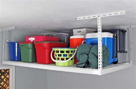 best garage organizer 10 best overhead garage storage shelves reviews in 2017