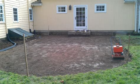 Patio Base Depth by Landscape Field How To Build A Patio
